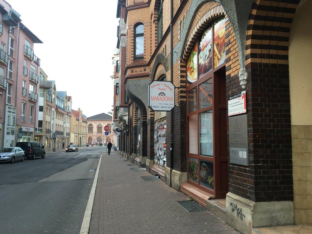 Das Döner-Restaurant Maradona Eisenach